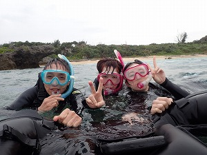 沖縄貸切シュノーケリング