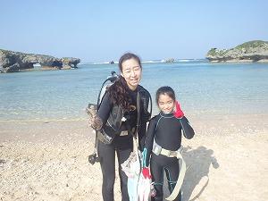 8歳の子供と沖縄ダイビング