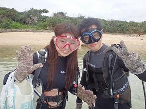 沖縄貸切ダイビング