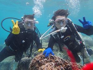 沖縄親子で体験ダイビング