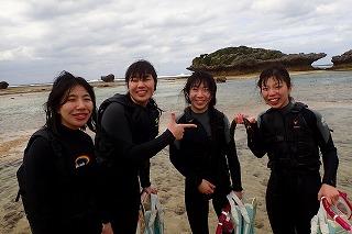 沖縄女子旅シュノーケリング
