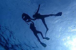 綺麗な海で素敵なシュノーケリングの思い出写真を残そう