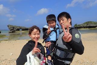 3歳の子供とシュノーケリング 沖縄