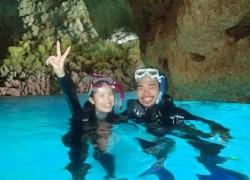 青の洞窟貸切シュノーケリング