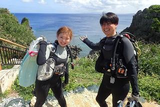 青の洞窟ダイビング貸切ツアー
