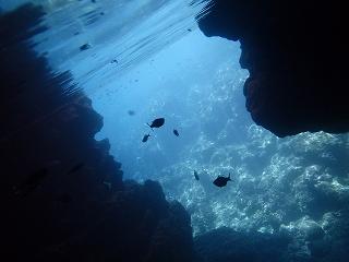 青の洞窟ポイント