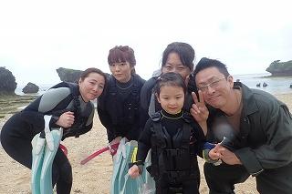 5歳シュノーケリング沖縄