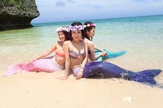マーメードスイム沖縄 女子旅で思いで作り