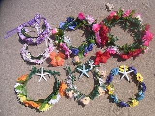 マーメイドスイム新しく花冠作りました