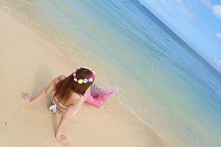 ピンクのマーメイド