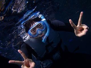 シュノーケリングで青の洞窟行って来ました♪