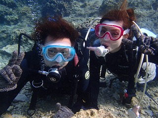 沖縄旅行記念 ダイビング
