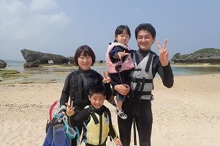 沖縄旅行 シュノーケリング