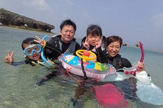 子連れシュノーケリング 沖縄