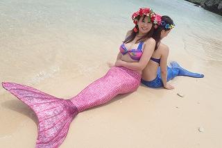 マーメイド体験 沖縄で人魚姫になれる