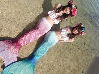 沖縄で人魚姫になれる!!マーメイドスイム体験