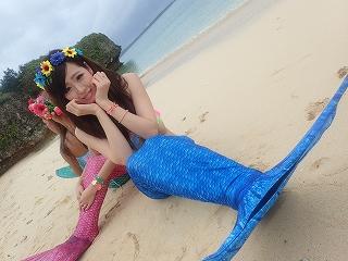 マーメイド体験 可愛い人魚♪ブルー