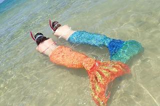 マーメイド体験 泳ぐこともできます