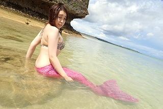 マーメイド体験 人魚姫~!