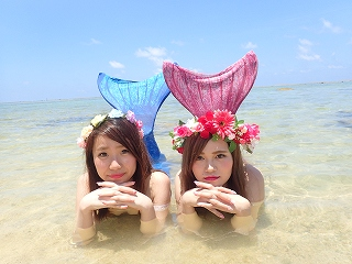マーメイド体験 人魚姫~