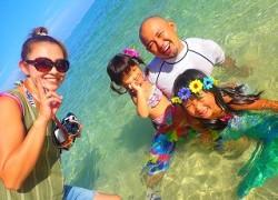 沖縄人魚体験と青の洞窟シュノーケリング